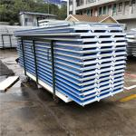 30mm PVC eps sandwich roof panel with 12kg density for fast prefabricated buildings