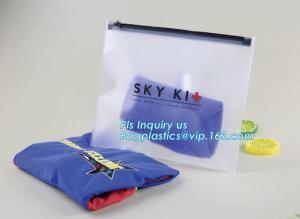 China Zipper Sealed Slider Gusset Cosmetic Bag Makeup Case Plastic Waterproof Bag, cosmetic vinyl bag clear vinyl slider zippe on sale