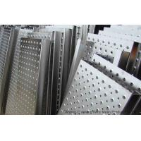 China Anti Skid Stainless Steel Perforated Mesh , Architectural Perforated Metal Panels on sale