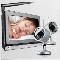 Built - in Antenna Wireless Camera Security Systems Super 7 Inch Screen Waterproof