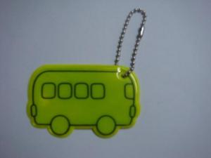 China Reflective Soft PVC Luggage Tag on sale