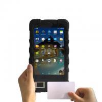 China 7 inch 3G Black NFC  Barcode Scanner  pdf 417 Biometric Device and Wireless Biometric Fingerprint Reader on sale