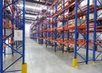 Space Saving Very Narrow Aisle Racking Load Capacity 200-1000kgs Adjustable Level