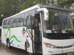 Used Kinglong Bus XMQ6859 35Seats Steel Chassis Used Tour Bus Single Door Rear Engine Euro III