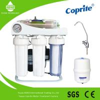 China 5 Stages Stand Osmosis Reverse Water Filter System With Oil Pressure Meter on sale