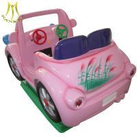 Hansel cheap indoor game machie kiddie ride on pink car for sale