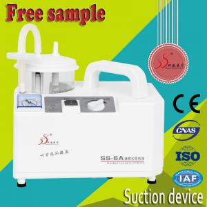 China White Color Nasal Suction Machine , Portable Suction Apparatus Overflow Protection Function on sale