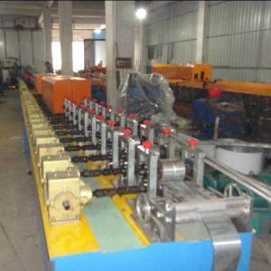 China XM-37 PU foam roller shutter door forming machine production line on sale