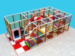 EU Standard Indoor Playground Business Environmental With Trampoline And Ball Pit
