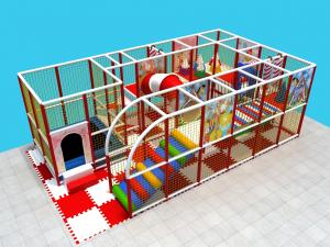 China EU Standard Indoor Playground Business Environmental With Trampoline And Ball Pit on sale