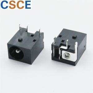 China Rated Current 0.5A DC Power Jack Connector / DC Power Connector Female Size 11.5*9.6*7mm on sale