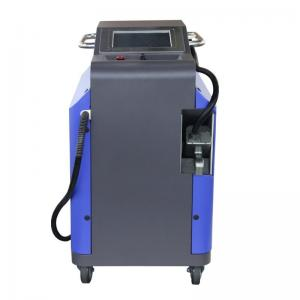 China Industrial 100w Pulsed Laser Cleaning Machine Forced Air Cooling System on sale