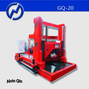 China 2 m size ground hole Rotary water drilling machine GQ-20 for construction basement on sale