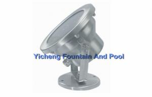 China Waterproof IP68 Halogen / LED Underwater Fountain Lights for garden , hotel hall pool on sale
