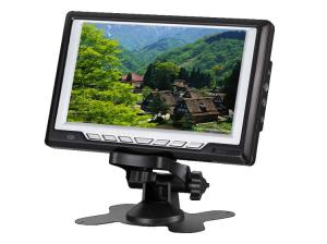 China 7 Inch Portable TFT LCD TV with FM,USB,SD Card Reader on sale