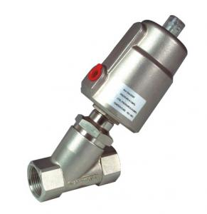 China Pneumatic Angle Seat Valve with Ss Actuator on sale