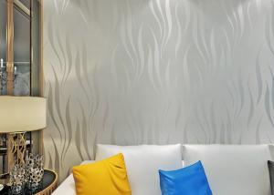 Nonwoven Foam Modern Self Adhesive Wallpaper 3d Peel And