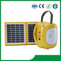 China Best selling solar lantern with mobile phone charger / 2pcs solar panel / 9pcs led lights on sale