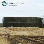 Above Ground Wastewater Storage Tanks For Municipal Easy To Clean