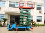 12m 450kg Loading Capacity Truck Mounted Scissor Lift with Auxiliary Lowering System