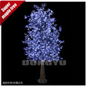 China 3M High simulation led artificial maple tree for decoration on sale