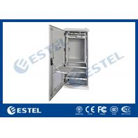 China Double Wall Aluminum AL5052 Outdoor Power Cabinet / Outdoor Telecom Cabinet With SNMP Monitoring on sale