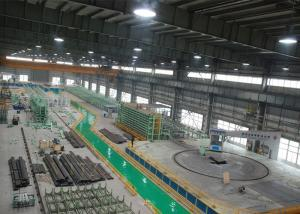 China Fabrication Serpentine Tube Production Line , Tube Prefabrication Line on sale