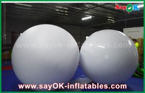 China LED Lighting Inflatable Balloon 0.2mm PVC Throwing Ball For Vocal Concert / Event on sale