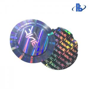 China PET Material 3D Hologram Stickers With Excellent Moisture Barrier on sale