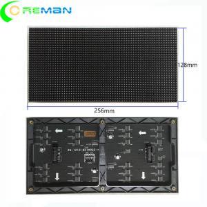 China External Internal Smd LED Display Module , Black Led Hub75 LED Module Screen on sale