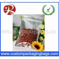 Zip lock Aluminium Foil Plastic Peanut Food Packaging Bags Water Proof
