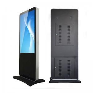 China HDMI Input Standing Lcd Advertising Kiosk Digital Signage Touchscreen CE ROHS on sale