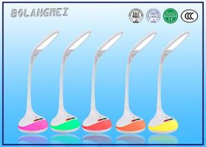 China Touch dimmer flexible LED Desk Lamp with 3 grade dimmer and RGB base on sale