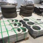 Hot Rolled 304 316L 321 Stainless Steel Plate Rings 3.0 - 80.0mm for Flange Blank