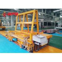 China Stable Start Battery Transfer Cart On Rails DC Motor Flatbed 18 Months Warranty on sale