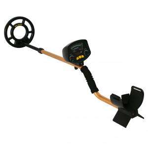 China Gold Treasure Finder Ground Metal Detector Within 8 Inches Adjustable Sensitivity And Headphone Jack on sale