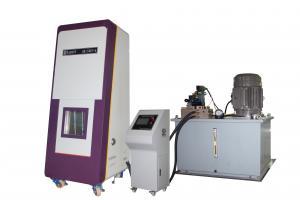China Lecteur hydraulique équipement d'essai d'écrasement de paquet de batterie de 20 tonnes pour l'UL 1642 d'UL 2054 on sale
