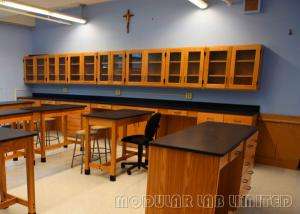 China Biology Safety School Laboratory Furniture Easily Cleaned Lab Tables Work Benches on sale