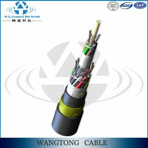 China ADSS Aerial self-supporting G.652d Optical Fiber Cable Aramid Yarn made in china for Power Transmission Line on sale