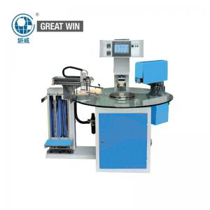China 1.5kw Shoes Digital Printing Machine , Multi - Station Rotary Table Label Hot Stamping Machine on sale