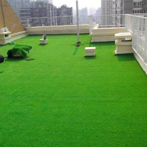 China Landscape Putting Green Plastic Grass For Garden , Synthetic Turf Artificial Grass on sale