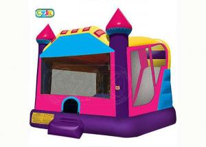 China Wholesale Promotional Inflatable pink Air Bouncer Inflatable Trampoline Bounce House on sale