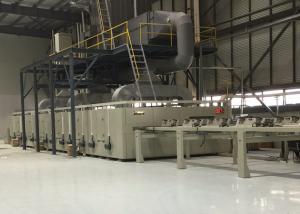 China Finishing Heat Setting Stenter Horizontal Chain Textile Stenter Machine Customized on sale