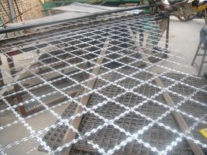 China Concertina Stainless Steel Razor Wire / Welded Wire Fabric For Frontier on sale