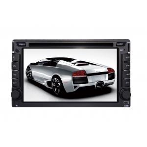 China 6.2 Inch Universal Double Din Car DVD Players with ARM11-New A5 solution DR6216 on sale