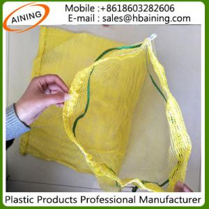 China PP/PE Leno Raschel Mesh Net Bag on sale