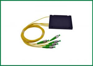 China 1x4 50cm 2.0mm Pigtail Cassette Fiber Optic PLC Splitter Distribution Box on sale