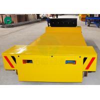 Die Electric Transfer Vehicle Mold Transport Flat Rail Car for Workshop Material Handling