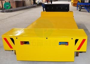 China Die Electric Transfer Vehicle Mold Transport Flat Rail Car for Workshop Material Handling on sale