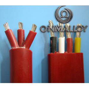 China Thermocouple Stranded Twisted Tinned Copper Silicone Insulated Wires 3x2.5 Cross Section on sale
